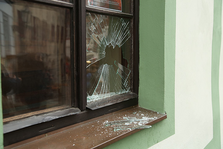 A2B Glass are able to board up broken windows while they are being repaired in Angel.